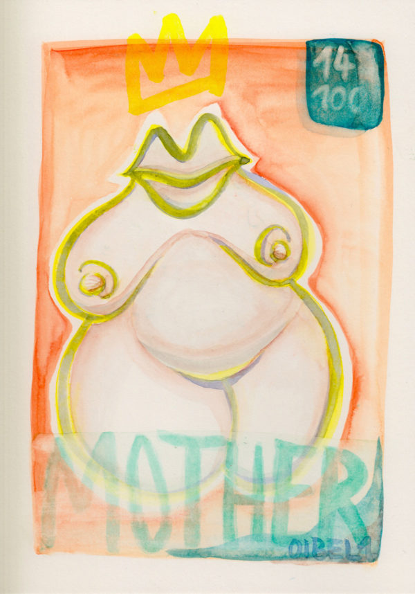 A5—mother-watercolr-on-paper