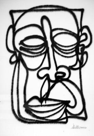 Head—oneline-spray-paper-250gsm-A2-oibel1