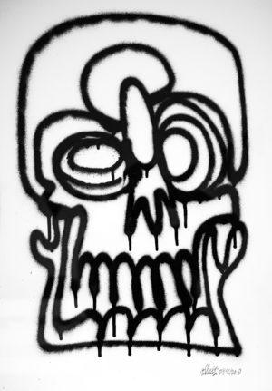goin-crazy—oneline-spray-paper-250gsm-A2-oibel1