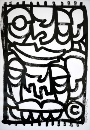 raw – acrylic paper 250gsm A2 oibel1